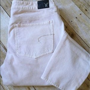 American Eagle White Soft Jeggings NWOT